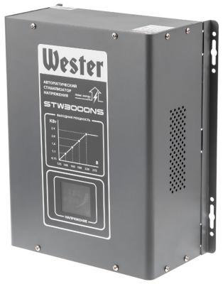 цена на Стабилизатор напряжения WESTER STW 3000 NS