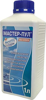 Средство для очистки Маркопул МАСТЕР-ПУЛ Кемиклс 1л бутылка 4 в 1 М20 cuetec talisman 2pc пул cru1302