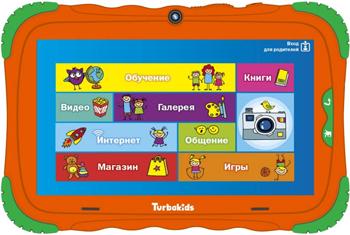 Планшетный компьютер Turbo ''TurboKids S5'' оранжевый РТ00020505
