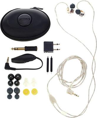 Вставные наушники Shure SE 535-CL-EFS прозрачный наушники shure se215 cl прозрачный