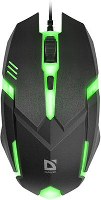 цена Проводная оптическая мышь Defender Cyber MB-560 L 52560 онлайн в 2017 году