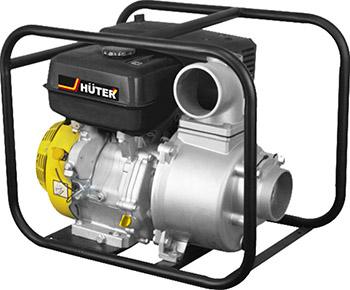 Мотопомпа Huter MP-100 желто-черная 70/11/5 цена