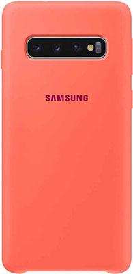Чехол (клип-кейс) Samsung S 10 (G 973) SiliconeCover pink EF-PG 973 THEGRU