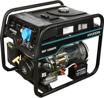Электрический генератор и электростанция Hyundai HHY 10000FE