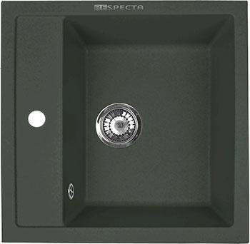 Кухонная мойка Respecta Cubo RC-51 черный опал RC51.101 цена