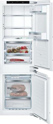 Встраиваемый двухкамерный холодильник Bosch KIF 86 HD 20 R встраиваемый двухкамерный холодильник siemens ki 86 nvf 20 r