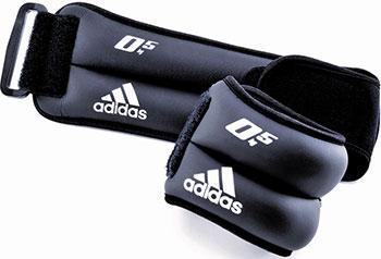 Утяжелители на запястья/лодыжки Adidas (2 шт. х 0 5кг) (пара) ADWT-12227 цена