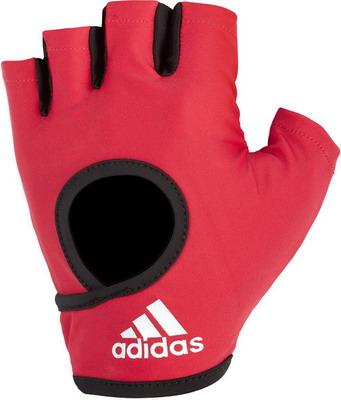 Перчатки Adidas Pink - M ADGB-12614 худи женское adidas fl prime hoodie цвет синий du1304 размер m 48