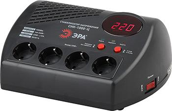 Стабилизатор напряжения ЭРА СНК-1000-Ц эра стабилизатор sta 1000