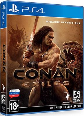 Игра для приставки Sony PS4 Conan Exiles. Издание первого дня 72 дня первого русского парламента