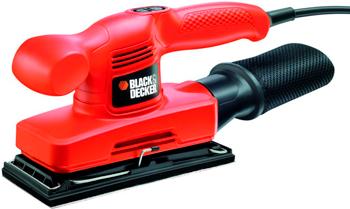 цена на Вибрационная шлифовальная машина Black&Decker KA310 черно-оранжевый