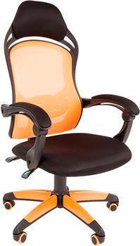 Кресло Chairman game 12 черн.оранжевый 00-07016631