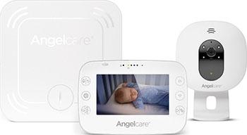 Видеоняня Angelcare AC327 белая с беспроводным монитором движения 4 3'' LCD дисплей