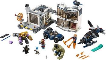 Конструктор Lego Super Heroes Битва на базе Мстителей 76131