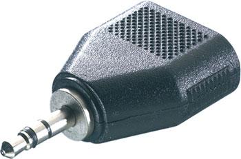 Аудио адаптер стерео Vivanco 46064