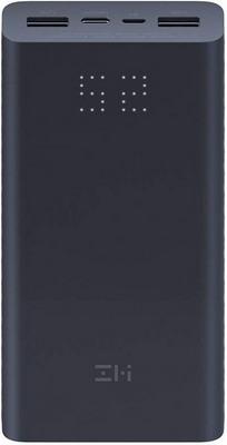 Внешний аккумулятор Xiaomi ZMI Aura (QB822 Black) 20000 mAh (27W) Micro USB/Type-C Quick Charge 3.0 черный
