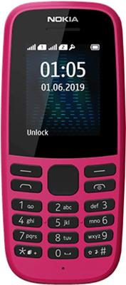 Мобильный телефон Nokia 105 DS (TA-1174) Pink/розовый