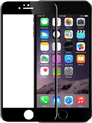 Защитное стекло Eva 3D для Apple iPhone 6/6s - Черное (SZE3D-6B) защитное стекло caseguru для apple iphone 6 6s silver logo