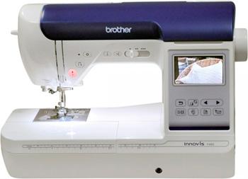 Швейно-вышивальная машина Brother Innov-is F480 4977766764810 швейная машина brother innov is f420 белый