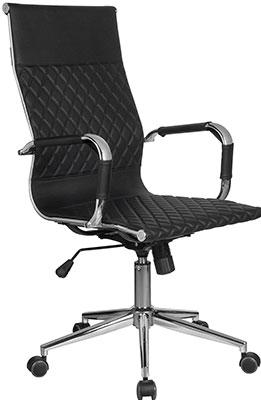 Кресло Riva Chair 6016-1 S Чёрный (Q-01) лонгслив q s designed by q s designed by qs006emgqbp4