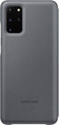 Чехол (клип-кейс) Samsung S20plus (G985) LED-View gray EF-NG985PJEGRU аксессуар чехол samsung galaxy note 8 led view cover gold ef nn950pfegru