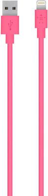 Фото - Кабель Belkin USB папа/8-pin Lightning папа 1 2м розовый (F8J023bt04-PNK) fashion quartz watches men luxury waterproof watch man six pin sport military wristwatches clock relogio masculino dropshipping
