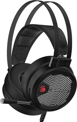 Аудио гарнитура игровая проводная A4Tech M620T черный компьютерная гарнитура a4tech bloody m620t черный