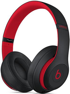 Беспроводные мониторные наушники Beats Studio3 Wireless Over-Ear Headphones Defiant Black-Red MX422EE/A