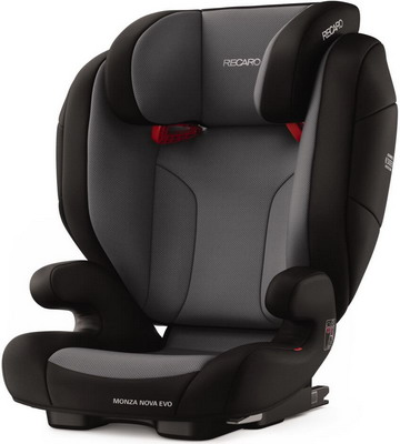 Автокресло Recaro Monza Nova Evo Seatfix гр. 2/3 расцветка Carbon Black автокресло recaro monza nova is гр 1 2 3 расцветка prime mat black