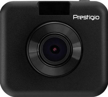 Автомобильный видеорегистратор Prestigio RoadRunner 155 черный автомобильный видеорегистратор prestigio roadrunner cube fhd 30fps 1 5 2 mp camera 140° 150 mah wifi g sensor red black metal plastic a3pcdvrr530wr