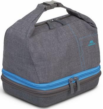 Фото - Чехол-сумка для экшн видео камер и аксессуаров Rivacase 7513 Action camera Canvas case grey сумка для фотокамеры rivacase 7440 ps slr case black