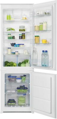 Встраиваемый двухкамерный холодильник Zanussi ZNHR18FS1