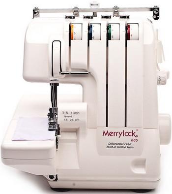 купить Оверлок Merrylock 005 по цене 12826 рублей
