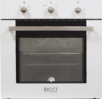 Встраиваемый газовый духовой шкаф Ricci RGO-610 WH встраиваемый газовый духовой шкаф bosch hgn 10 e 060