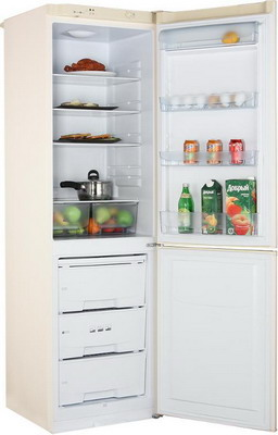 Двухкамерный холодильник Позис RK-149 бежевый двухкамерный холодильник позис rk 149 белый