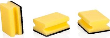 Губки кухонные Tescoma CLEAN KIT 3 шт. с петелькой 900650