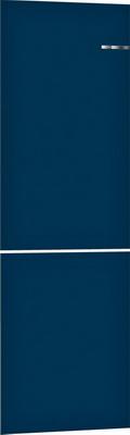 Навесная панель на двухкамерный холодильник Bosch VarioStyle KGN 39 IJ 3 AR со сменной панелью Цвет: Ночной синий навесная панель на двухкамерный холодильник bosch variostyle kgn 39 ij 3 ar со сменной панелью цвет шампань