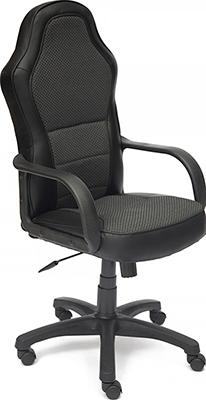Компьютерное кресло Tetchair, KAPPA (кож/зам ткань черный PU C 36-6/JP 15-1), Россия  - купить со скидкой