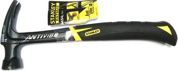 Молоток с прямым гвоздодером Stanley Fatmax Antivibe FMHT1-51278 1-51-278 цены