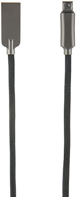 Фото - Кабель Red Line LX13 Zync alloy USB-Micro USB черный jf26 130cm aluminum alloy telescopic led fill light live bracket support mobile phone photographic lamp 10 inch usb fill light