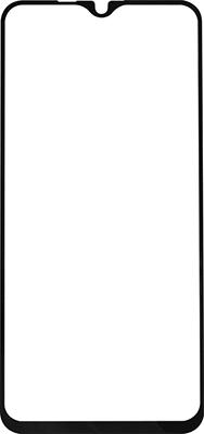 Защитное стекло Red Line Vivo Y19 Full screen tempered glass FULL GLUE черный liberty project tempered glass защитное стекло для alcatel onetouch idol 4s 6070k 0 33 мм