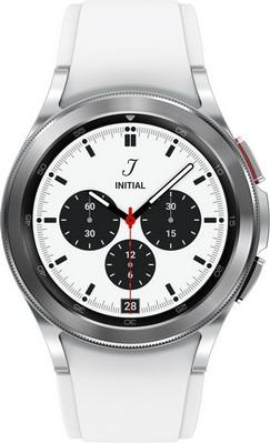 Умные часы Samsung Galaxy Watch 4 Classic 42мм Super AMOLED серебристый (SM-R880NZSACIS) смарт часы samsung galaxy watch super amoled розово золотистый