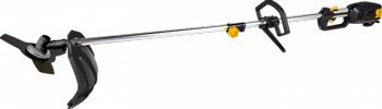 Триммер электрический Huter GET-LS45 серо-желтый