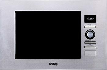 Встраиваемая микроволновая печь СВЧ Korting KMI 720 X микроволновая печь korting kmo 720 x
