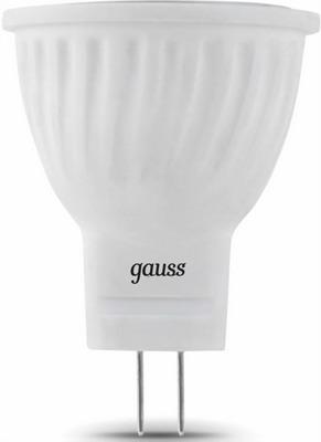 цены Лампа GAUSS LED D 35*45 3W MR 11 GU4 2700 K 132517103