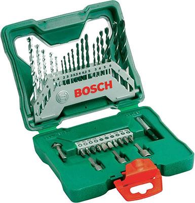 Набор бит и сверл Bosch X-Line 33 шт. 2607019325 цена 2017
