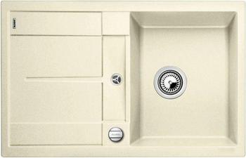 Кухонная мойка BLANCO METRA 45 S-F жасмин с клапаном-автоматом кухонная мойка blanco metra 6 s f белый с клапаном автоматом