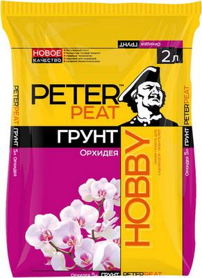 Грунт PETER PEAT HOBBY Орхидея 2л все цены