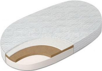 Матрас для кроватки Sweet Baby COCOS DeLuxe овальный (125 x 75)