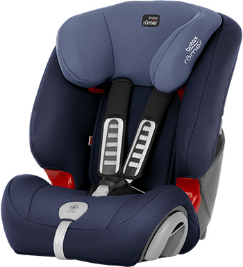 Фото - Автокресло Britax Roemer Evolva 123 Plus Moonlight Blue Trendline 2000027860 автокресло britax roemer baby safe moonlight blue trendline 2000027812
